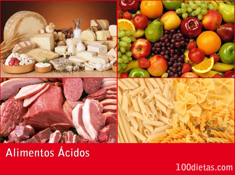 Alimentos ácidos