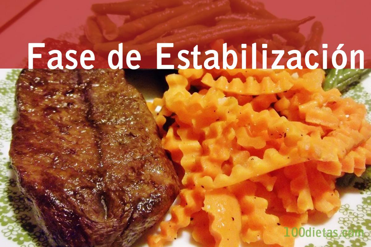 Fase de Estabilización Dieta Dukan