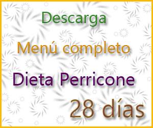 Dieta Perricone 28 días