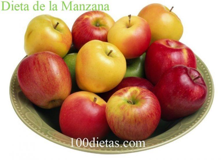 Dieta de la manzana, para perder peso rápidamente