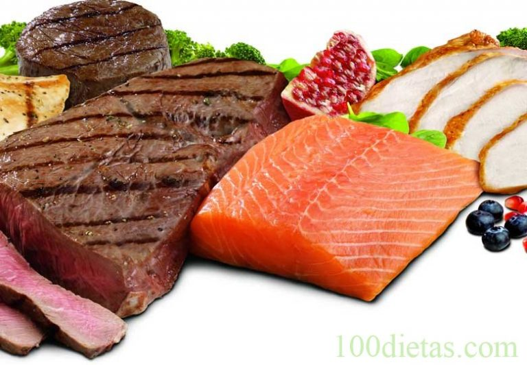 dieta paleolitica carnes y pescados