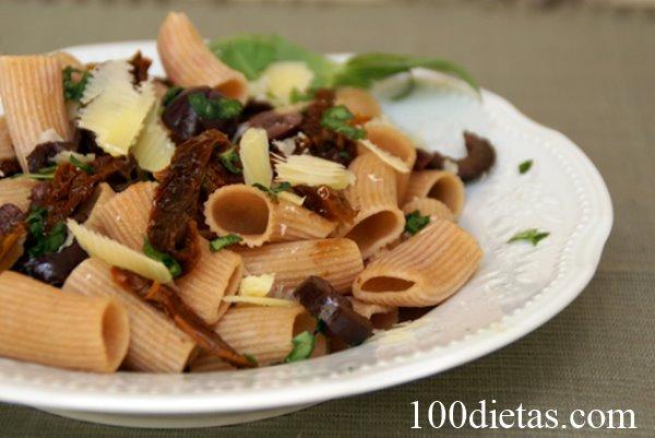 fideos harina integral en la dieta cetogénica