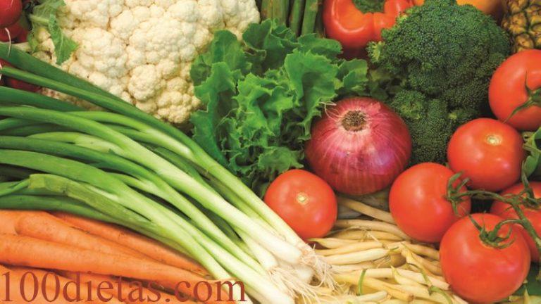 dieta paleolitica verduras