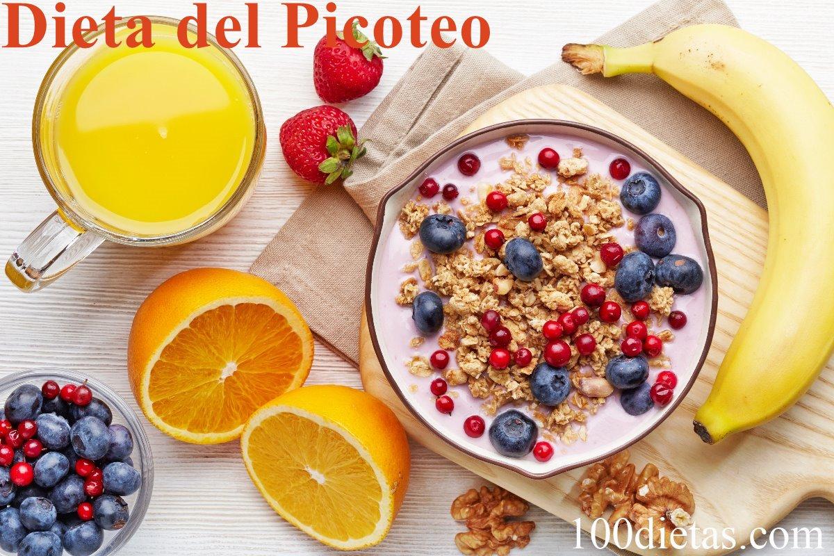 Dieta de cinco comidas al dia para adelgazar