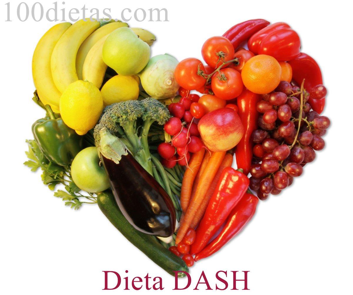Dieta DASH para controlar la presión arterial y adelgazar