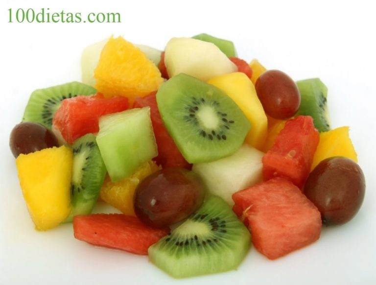 frutas en la Dieta Gourmet
