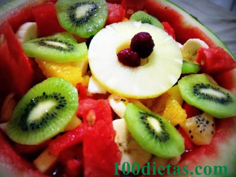 Macedonia de frutas light